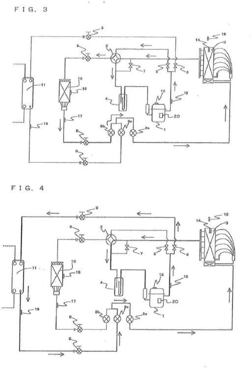 Dispositivo de ciclo de refrigeración.