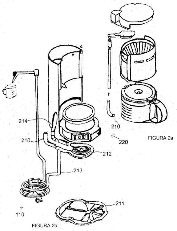 Mecanismo de vapor incorporado dentro de sistemas de calentamiento de agua de utensilios de cocina.
