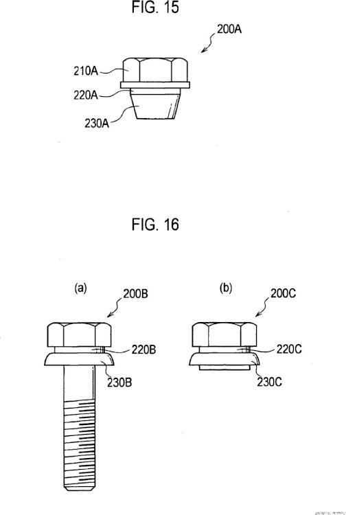 Dispositivo de soporte de fijación y método para fijar conjunto de neumático/rueda.