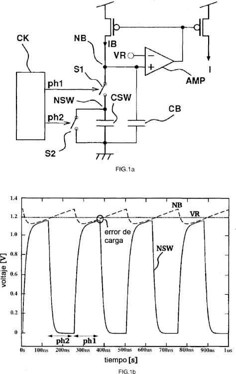Un sistema y un método para generar un voltaje de error.