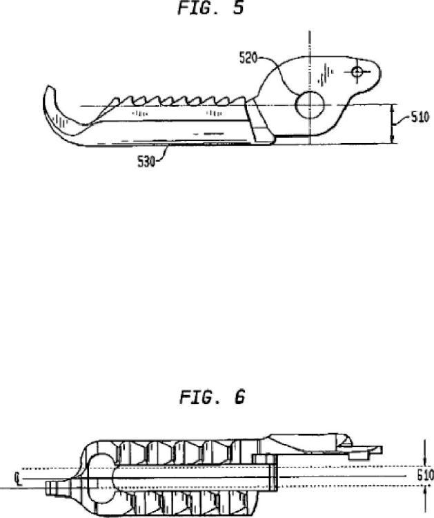 Estructuras de soporte para partes moldeadas.
