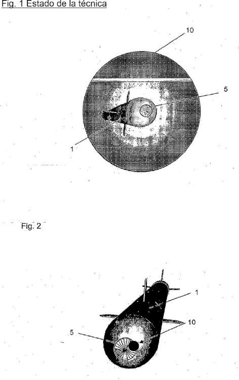 Procedimiento de desorientación IR para la defensa de misiles con cabezas de búsqueda sensibles a IR.