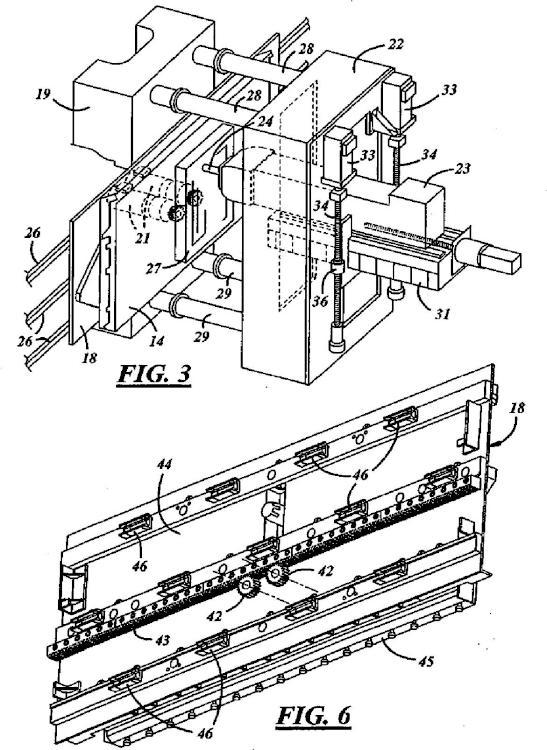 Sistema de manipulación de palés para una máquina herramienta.