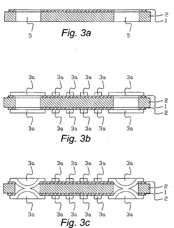 Método para fabricar una placa de circuito laminada.