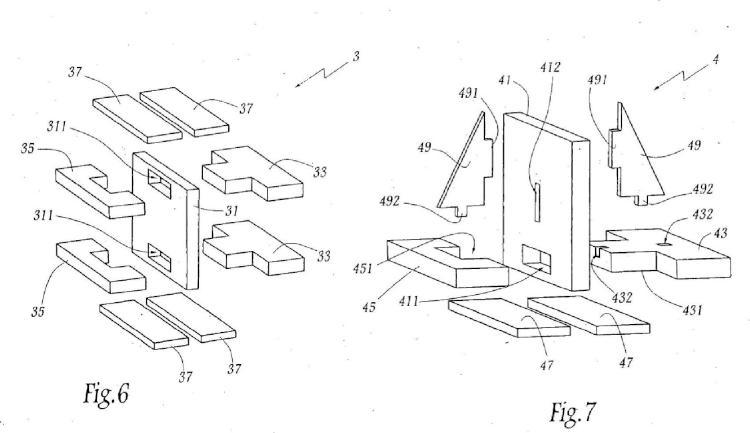 Conjunto fibroso para pieza compuesta, pieza compuesta y procedimiento de fabricación de esta pieza compuesta.
