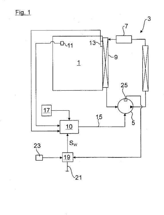 Aparato de refrigeración y/o de congelación así como procedimiento para la regulación de un aparato de refrigeración y/o de regulación de este tipo.