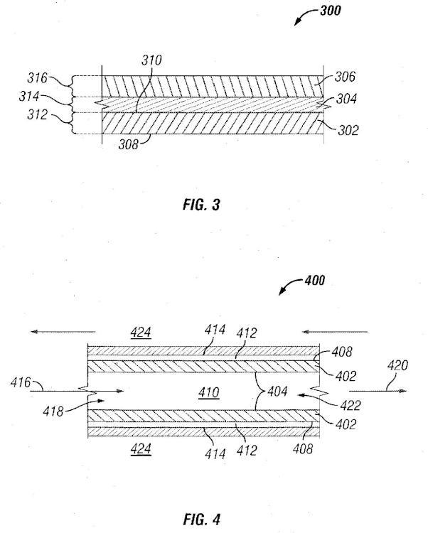 Método de fabricación de una membrana de separación de gases que comprende un sustrato con una capa de partículas de óxido inorgánico revestido y una capa de superposición de un material selectivo frente a gases.
