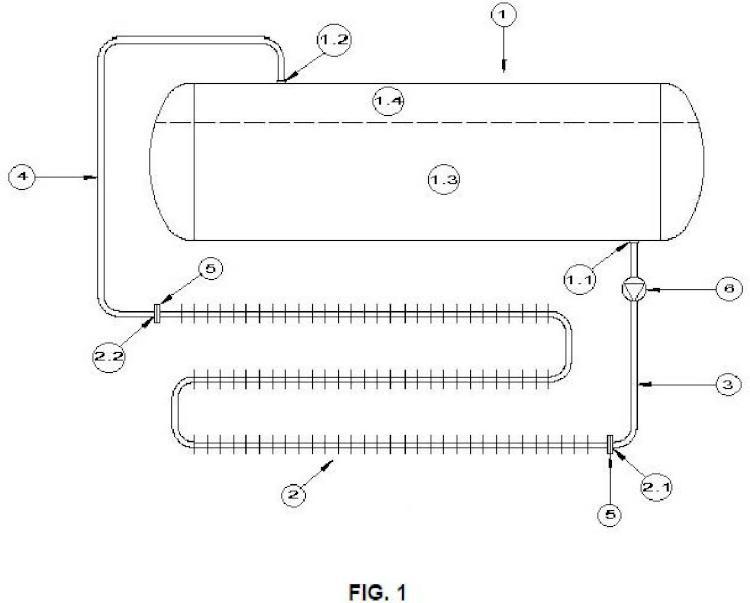 Sistema de aumento de vaporización en recipiente de almacenamiento de GLP.