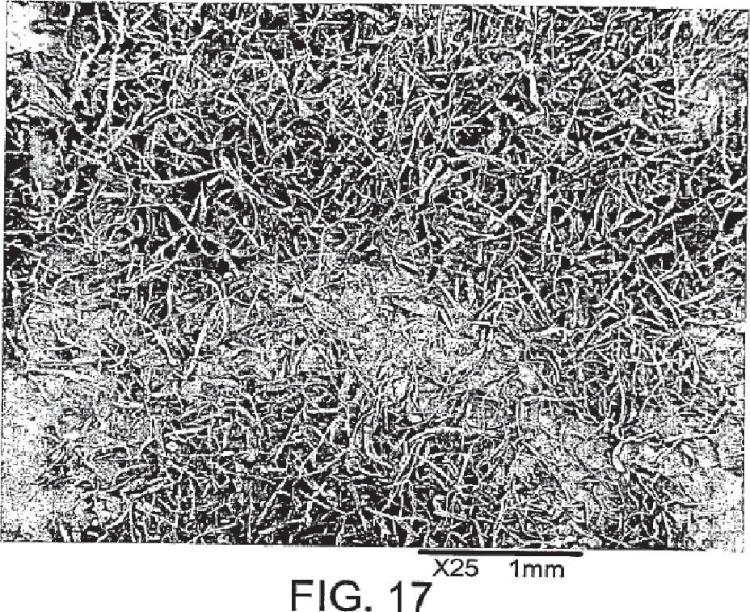 Procedimientos de fabricación de materiales fibrosos.