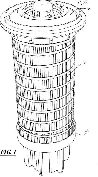 Sistema de filtro con separador combustible-agua.