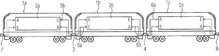 Método y dispositivo para determinar la longitud del tren de una pluralidad de vehículos de tracción acoplados.