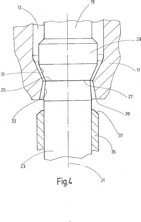 Dispositivo para la fabricación de un recipiente.