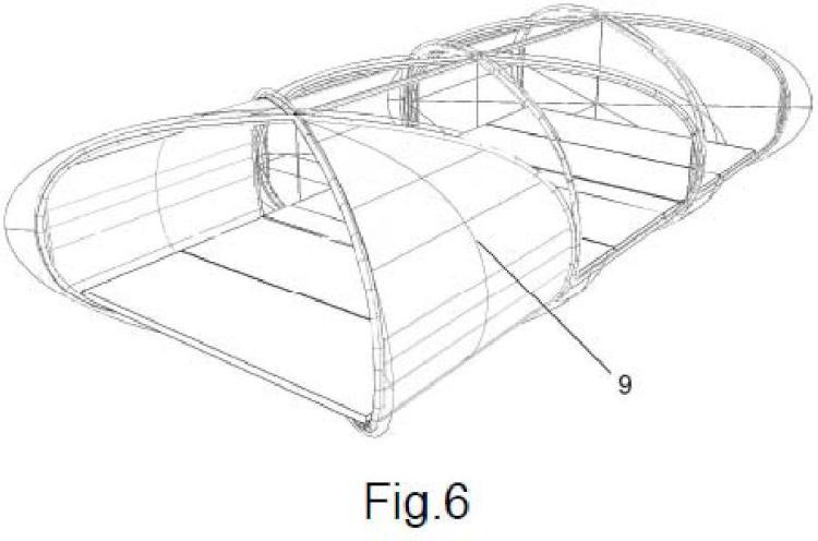 Arquitectura de alojamiento adaptable modular.