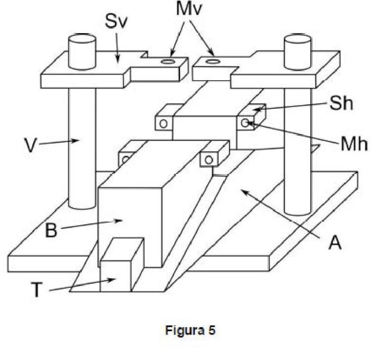 Dispositivo y método de ensayo para la caracterización de materiales ante fenómenos de fisuración.