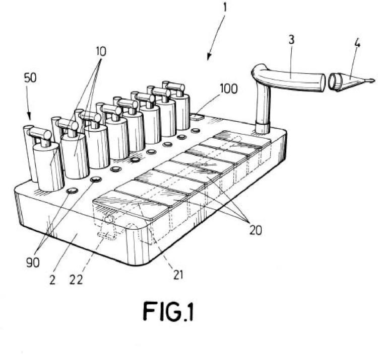 Dispositivo evaporador portátil para la prueba e inhalación de sustancias vaporizadas, y método de funcionamiento del mismo.