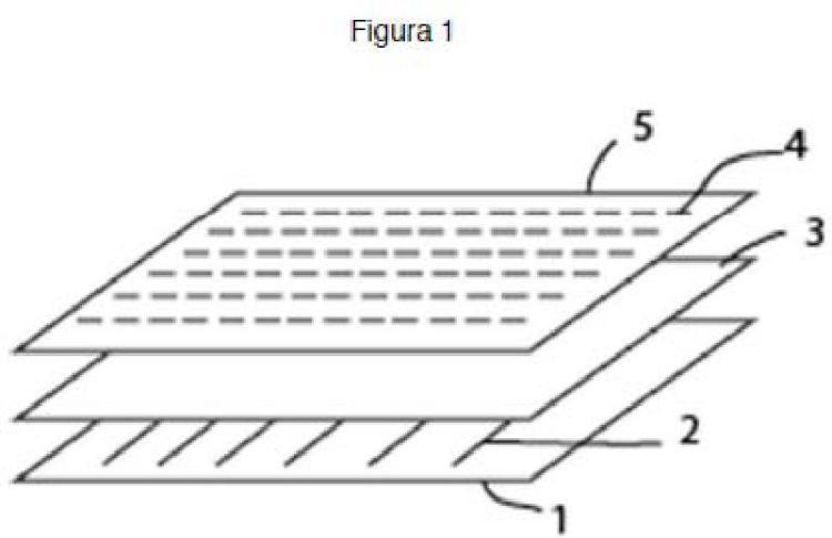 Sensor textil piezo-resistivo y sistema de detección del ritmo cardiaco y/o respiratorio.