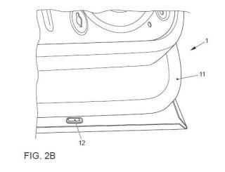 Dispositivo de retención de fluidos para puerta de vehículo.