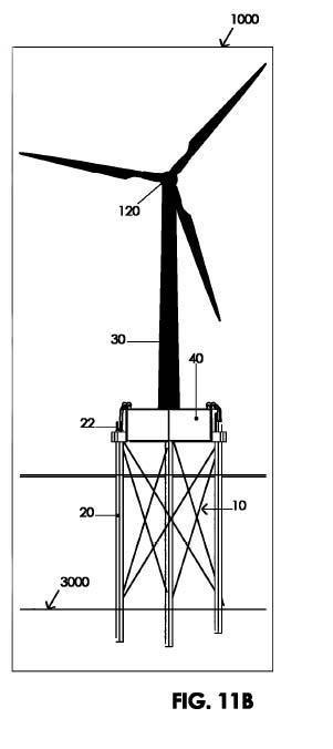 Procedimiento de instalación de torre de aerogenerador de tipo off-shore, de cimiento basado en pilas, y equipo para llevar a cabo tal procedimiento.