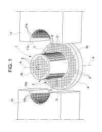 Un filtro para líquidos, en particular para válvulas eléctricas de electrodomésticos y similares.