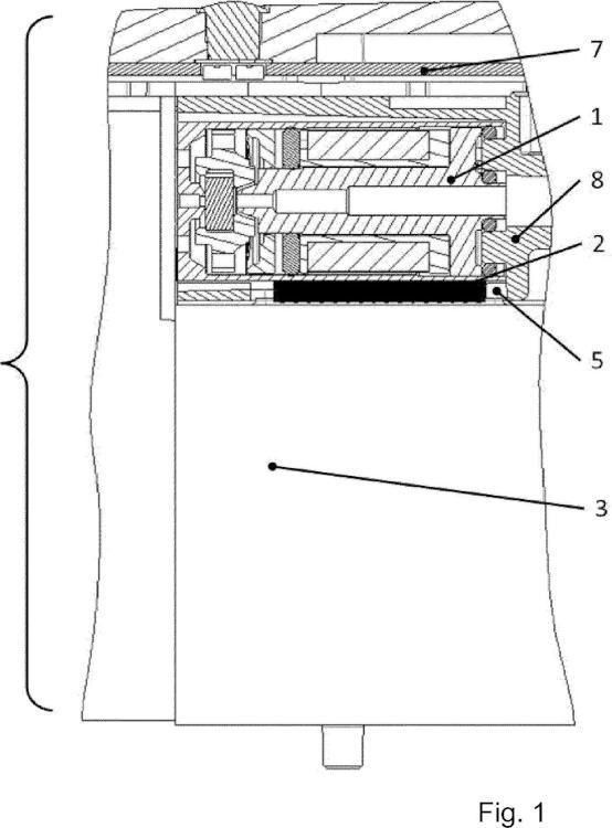 Válvula piloto electroneumática con drenaje térmico.