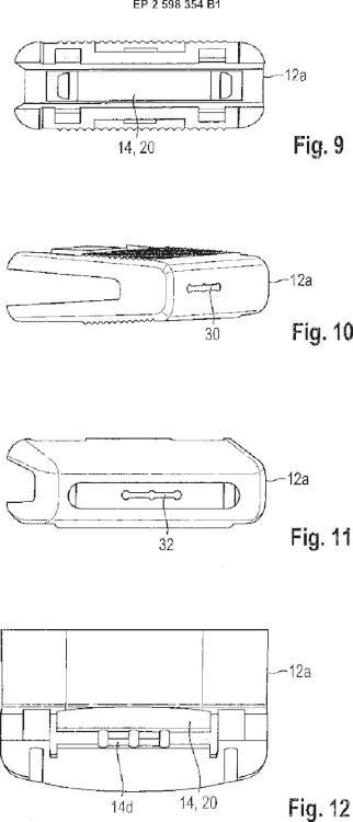 Ilustración 5 de la Galería de ilustraciones de Procedimiento para fabricar un elemento de mando para un difusor de aire, elemento de mando para un difusor de aire, y difusor de aire