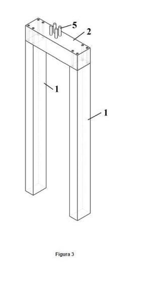 Cimentación prefabricada para estructuras de plantas termosolares y fotovoltaicas, y procedimiento de realización de la cimentación.