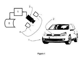 Procedimiento para el reconocimiento de marcas de vehículos mediante la clasificación del logo y dispositivo para su realización.