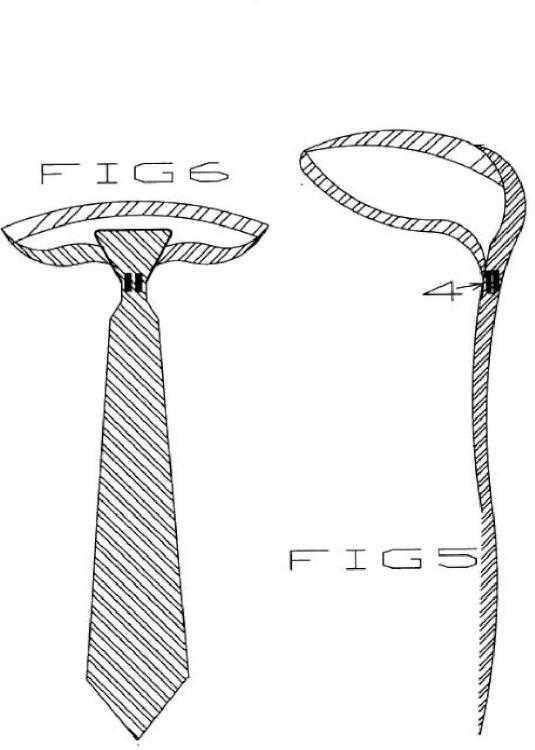 Nudo de corbata mágnetico.
