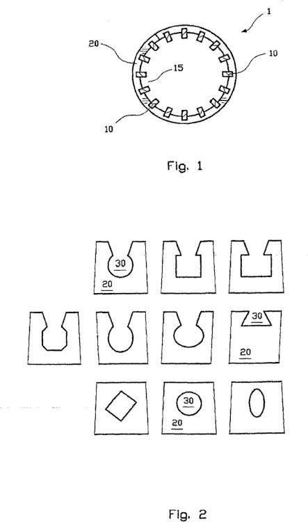 Procedimiento de fabricación de un cilindro de tamizado y cilindro de tamizado.