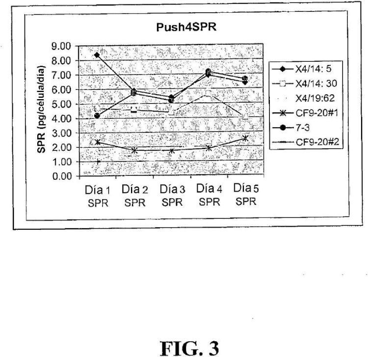 Uso de chaperonas moleculares para aumentar la producción de proteínas recombinantes secretadas en células de mamífero.