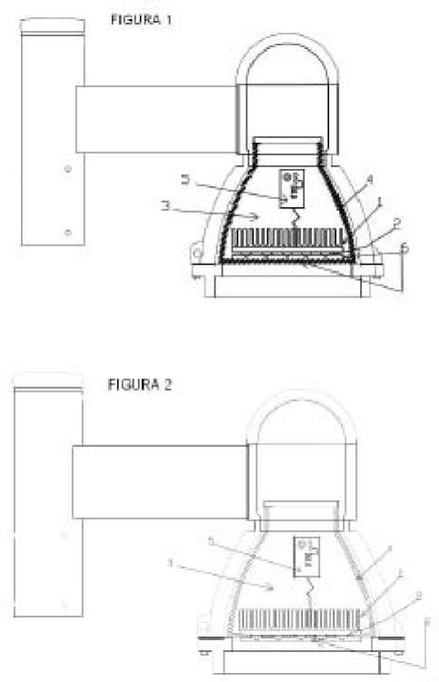 Método de refrigeración del sistema eléctrico y electrónico de una Luminaria led de uso exterior.