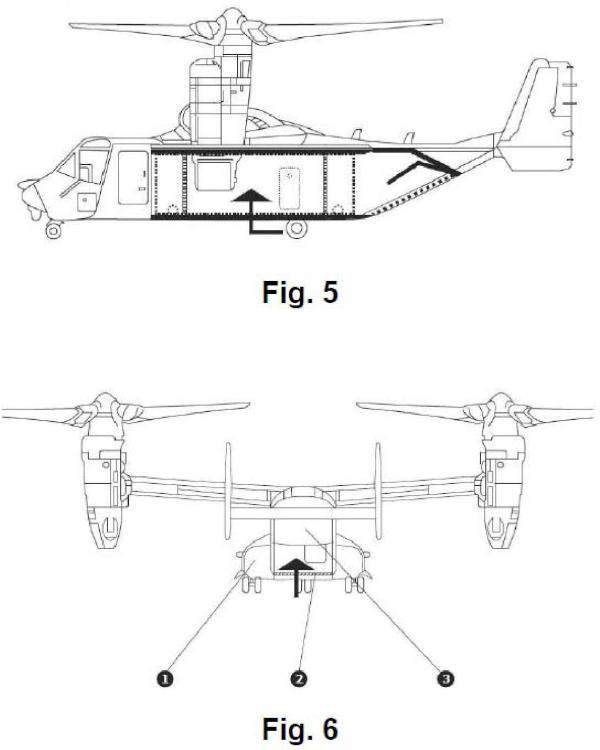 Aeronave de despegue y aterrizaje vertical con bodega modular multifunción.