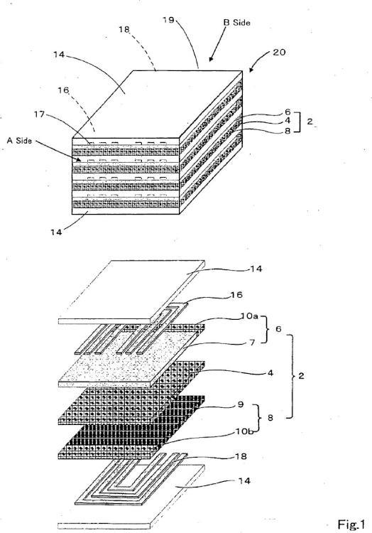 Estructura de apilamiento para el apilamiento de pilas de combustible de óxido sólido, el apilamiento de pilas de combustible de óxido sólido y método de producción de la misma.
