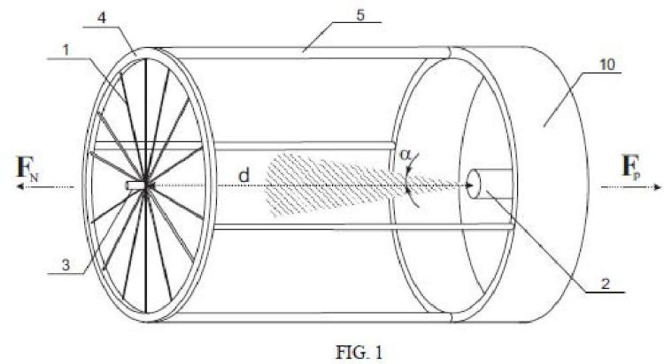 Sistema de propulsión espacial por modificación electrostática.