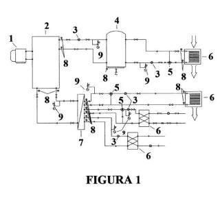 Sistema de deshumectación combinada con aprovechamiento energético para climatización.