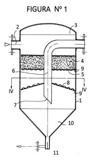 Acondicionador - separador de vapor.