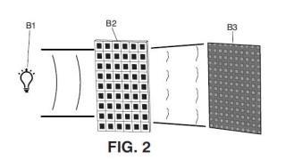 Sistema compacto de medición óptica con placa discretizada.