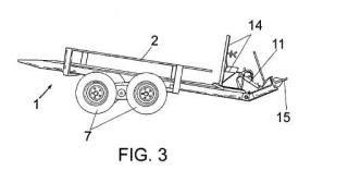 Apero agrícola para transporte de cajas utilizadas en la recolección de frutas y hortalizas.