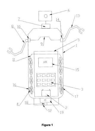 Dispositivo artificial articulado para la manipulación y el transporte de alimentos.