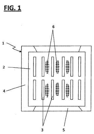 Elemento de intercambiador de calor y procedimiento para la producción.