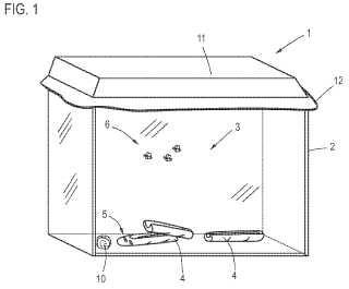 Composición, disposición de cría y procedimiento para la cría de Spathius exarator.