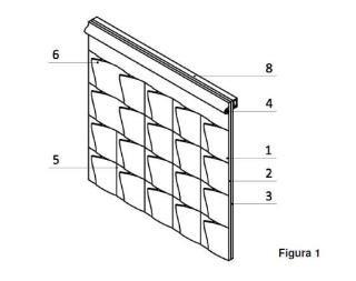 Sistema para el cultivo de plantas en planos verticales o inclinados.