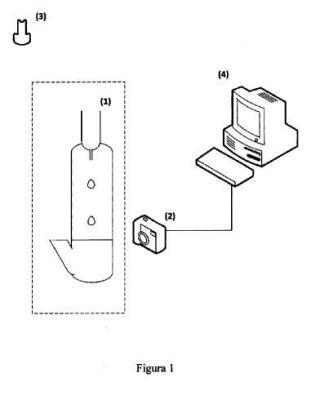 Método para la detección y contabilización de las gotas de un líquido en el interior de una celda y sistema para su puesta en práctica.