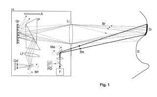 Sistema y método para escanear una superficie y programa de ordenador que implementa el método.