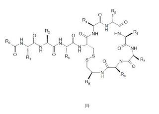 Compuestos peptídicos útiles como agentes antibióticos.