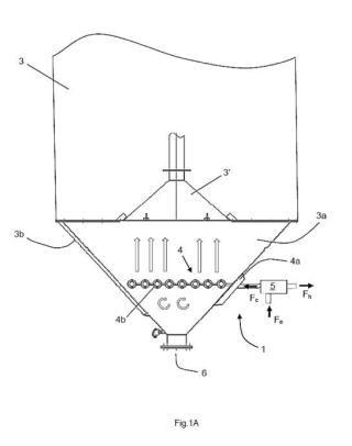 Dispositivo de acondicionamiento de material granular contenido en un silo y silo que incorpora dicho dispositivo.