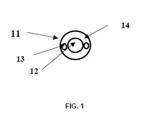 Método y sistema de detección del robo de un cable eléctrico.