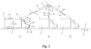 Dispositivo y procedimiento para determinar un rasgo de un vehículo.