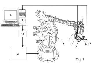 Cabezal y procedimiento de mecanizado automático con visión.