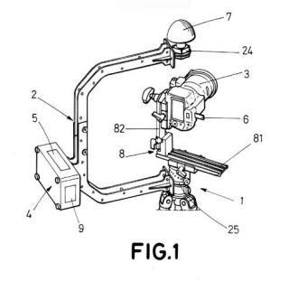 Dispositivo para geo-localización 3D y orientación de tomas fotográficas terrestres.